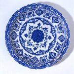 Dish with Lotus Pattern