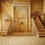 Iwan/Mihrab of the Great Mosque of Isfahan