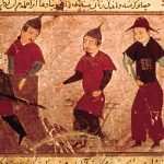 Genghis Khan and Three of His Four Sons