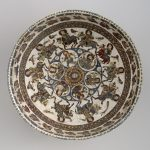 Bowl With Astronomical and Courtly Motifs