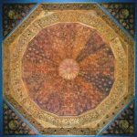 Domed Roof from the Palacio del Partal in the Alhambra