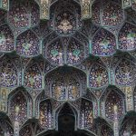 Decorative Vaulting in the Iwan Entrance of Shah Mosque