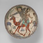 Bahram Gur and Azada Bowl (likely Kashan)